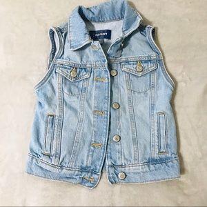 Other - Old Navy Girls Jean Vest 👧🏻